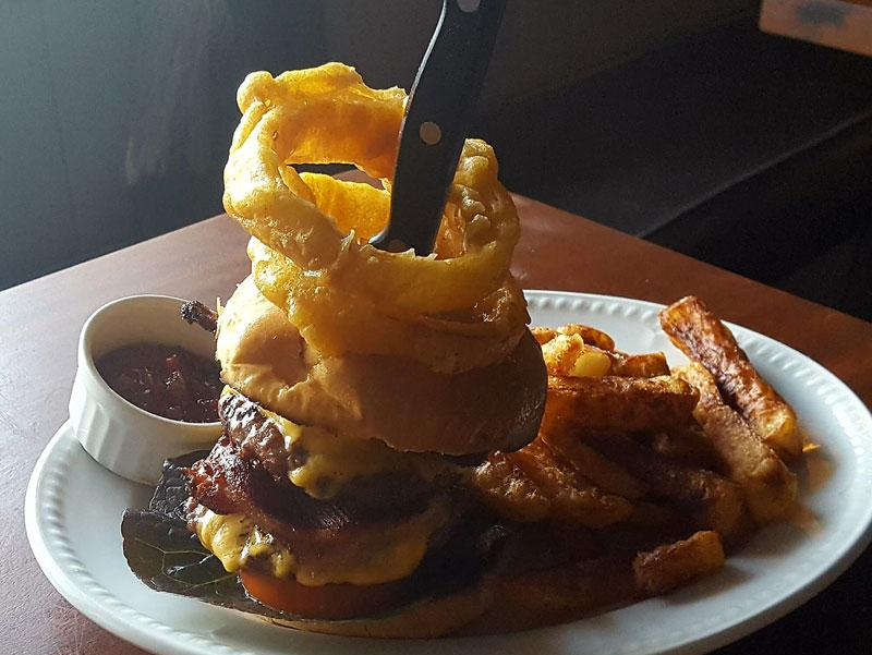 Witching Post Burger